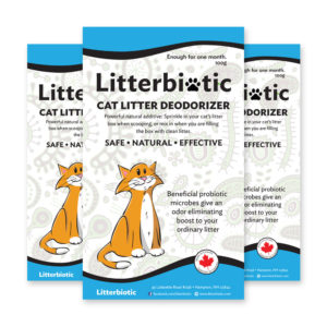 natural litter deodorizer