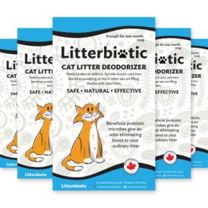 natural litter box deodorizer